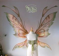 Image result for fairy wings bridal
