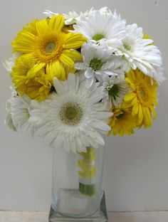 23 best yellow white gerbera daisy wedding images on pinterest yellow gerbera daisy white gerbera daisy yellow daisy and white daisy make up mightylinksfo