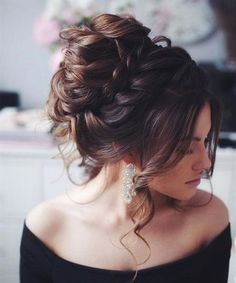36 Messy Wedding Hair Updos For A Gorgeous Rustic Country Wedding To Chic Urban Wedding Short Wedding Hairstyles Romantic Hairstyles, Wedding Hairstyles For Long Hair, Wedding Hair And Makeup, Messy Hairstyles, Hair Wedding, Bridal Hairstyles, Hairstyle Ideas, Bridesmaid Hairstyles, Fashion Hairstyles