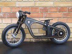 Zundapp-Loopfiets oldtimer stijl fiets voor beginners