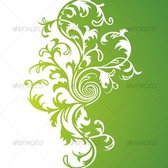 Realistic Graphic DOWNLOAD (.ai, .psd) :: http://hardcast.de/pinterest-itmid-1000055363i.html ... Green floral background ...  beauty, clean, eco, floral, green, leaf, nature, pattern, plant, white  ... Realistic Photo Graphic Print Obejct Business Web Elements Illustration Design Templates ... DOWNLOAD :: http://hardcast.de/pinterest-itmid-1000055363i.html