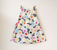 Wish this was a skirt for us big kids! bold & beauty  - simple modern dress. $26.00, via Etsy.