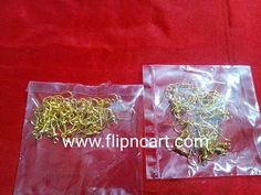 EARRING HOOKS - Flipncart Online Shopping in Vizag| CRAFT MATERIALS, SILKTHREAD MATERIALS, QUILLING MATERIALS, TERRACOTTA MATERIALS, OFFERS, BANGLES, JUMKA BASES, IPIN, HEAD PINS, LOREALS, STUD BASES, BEAD CAPS, JUMP RINGS, STONE LACE, STONE CHAIN, PEARL CHAIN.