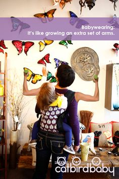 Babywearing gives you wings! (Almost)