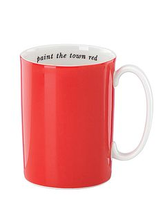 Paint the Town Red Mug by Kate Spade
