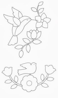 New Embroidery Patterns Tree Birds Applique Quilts Ideas Wool Applique, Applique Quilts, Embroidery Applique, Embroidery Stitches, Embroidery Patterns, Quilt Patterns, Machine Embroidery, Flower Applique Patterns, Flower Embroidery