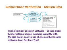 Phone Number Location Software – Locate International phone numbers instantly with Melissa Data's ease to use phone number locator software tool. Get Free Trial!	  http://www.melissadata.in/cloud-services/global-phone-cloud-service.htm
