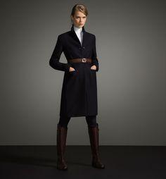 Massimo Dutti FW 2014 / Ref. 6414/777 / MENSWEAR COAT LIMITED EDITION - Limited Edition - WOMEN