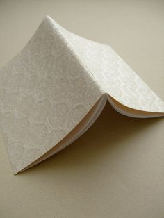 Soft Honeycomb / Small Notebook. $5.00, via Etsy.
