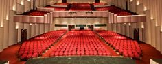 The Cullen Theater inside The Wortham Theater Center. Sunny Thompson's view as Marilyn Monroe in 'Marilyn Forever Blonde!' for 3 shows August 21-23, 2014!
