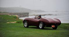 Even if the mist was thick enough to rival the Nürburgring, the scenes at the 2013 Pebble Beach Concours d'Elegance were simply breathtaking. Cathy Dubuisson visited the Concours on Sunday morning to capture the sights with her camera. Pebble Beach Concours, Concours D Elegance, Mists, Antique Cars, Scene, Magazine, Elegant, Classic, Vehicles