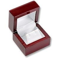 Rosewood ring box (other sizes available)