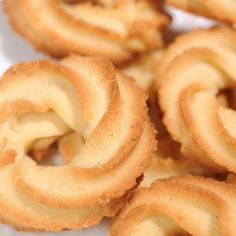 Food & Drink — the batter baker: Danish Butter Cookies Danish Butter Cookies, Biscuit Cookies, Biscuit Recipe, Yummy Cookies, Italian Butter Cookies, Cookie Desserts, Cookie Recipes, Dessert Recipes, Pastries