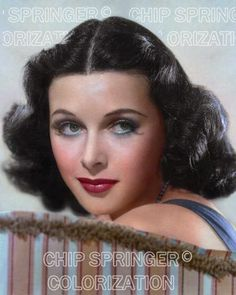 HEDY LAMARR SITTING ON A STRIPE SOFA BEAUTIFUL COLOR PHOTO BY CHIP SPRINGER. Featured Ebay Listing. Please visit my Ebay Store, Legends of the Silver Screen, at http://legendsofthesilverscreen.com to see the current listings of your favorite Stars now in glorious color! Thanks for looking and check out my Youtube videos at https://www.youtube.com/channel/UCyX926rA5x4seARq5WC8_0w