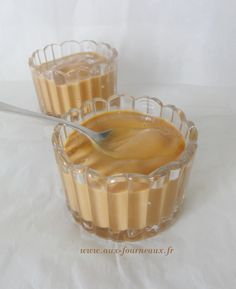 Crème dessert au caramel façon danette | Aux Fourneaux
