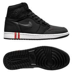 brand new 551bb 6164f Nike Air Jordan 1 Retro x PSG Black Sneaker Limited Edition Authentic