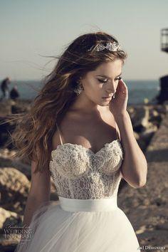 julie vino a j designers bridal s2017 sleeveless spagetti strap sweetheart…