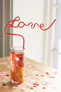 Krazy Love Straw - Urban Outfitters