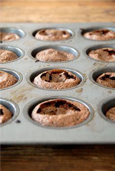 Flourless Chocolate Mini-Cakes