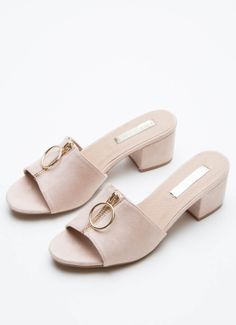 Trina Heel - Blush [Follow us: @Peppermayo for more cuteness and daily fashion inspo.]