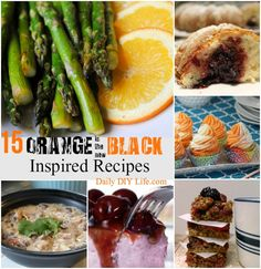 15 Orange is the new Black Inspired Recipes!