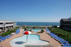 Room with a view at the Riviera Beach Resort