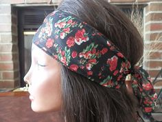 Bohemian Flower headband by myfashioncreations, $11.99