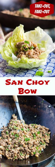 San Choy Bow is so easy to make at home.  Add some rice or noodles and a few extra vegetables, and it makes a fabulous quick meal.