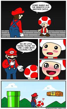 Mushroom love.