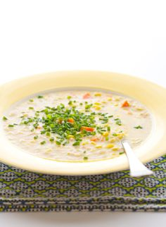 Veggie Corn Chowder Recipe from 100 Days of Real Food by Lisa Leake