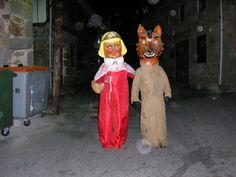 Disfraz de Caperucita y el lobo