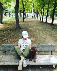 おはようございます☆*:.。. o . 朝散歩が気持ちいい🐶💕 .  #goodmorning #朝#朝散歩#ウォーキング #美容#健康#ダイエット#朝活 #早起き#静寂#初秋#自然 #愛犬#トイプードル#男の子 🐶 #instahappy#instagood