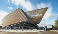 Mons Convention Center : Daniel Libeskind designed a convention center in Mons, Belgium that is to be completed in time for the town's inauguration as the