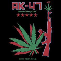 Marijuana Strain' T-Shirt by Samuel Sheats Marijuana Art, Medical Marijuana, Cannabis, Ganja, Skull Girl Tattoo, Stoner Art, Weed Art, Puff And Pass, Smoking Weed