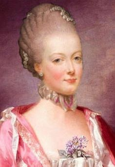 Pretty rather than beautiful, Marie Antoinette made up for this with her charm. Graceful, a superb dancer, and a talented musician- the harp being her particular favourite,