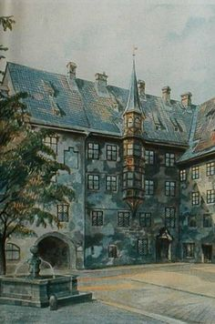 Including watercolors painted by Hitler himself. | Inside The Army's Spectacular Hidden Treasure Room