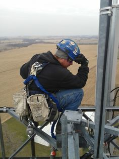 How would you like to work up here? #CellTowers #VertexInnovations