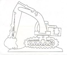 excavator jigsaw puzzle solution  http://www.craftypuzzles.com/solutions.htm