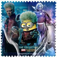 Guardians of the Galaxy Minions ~ The Collector