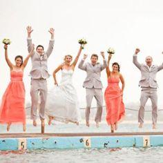 Tracy & Rob's Beach Wedding – Bridesmaids