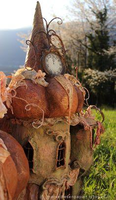 Adorable Autumn/Pumpkin Cinderella Dollhouse