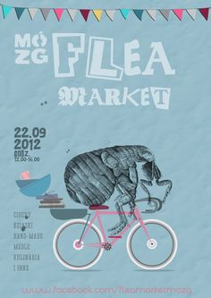 FLEA MARKET POSTERS on Behance