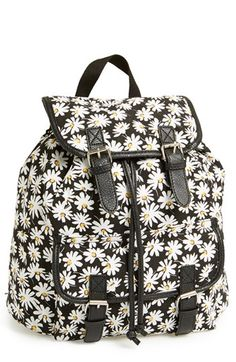 Amici Accessories Daisy Print Backpack (Juniors) (Online Only) available at #Nordstrom