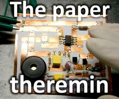 The paper theremin