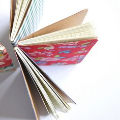 DIY Fabric Covered Notebooks | Gift Ideas