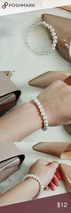 Pearl Beaded Bracelet WORN SPARINGLY  NEW CONDITION Accessories