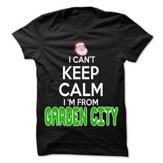Keep Calm Garden City... Christmas Time - 99 Cool City  - #tshirt recycle #cat hoodie. OBTAIN LOWEST PRICE => https://www.sunfrog.com/Hobby/Keep-Calm-Garden-City-Christmas-Time--99-Cool-City-Shirt-.html?68278