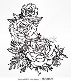 Image result for floral tattoo