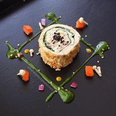 Sesame crusted Chicken Ballotine | whereismyspoon