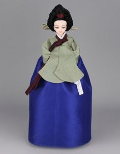 Korean Traditional Hanbok Doll